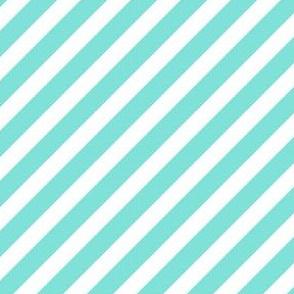valentines stripes - valentines dog quilt coordinate, bright mint stripes, mint stripes fabric, striped fabric