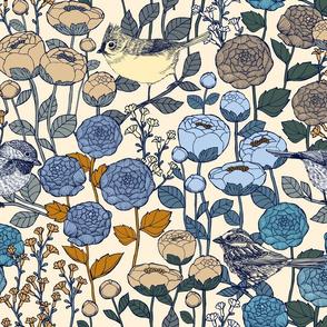 Winter Garden {Ivory}