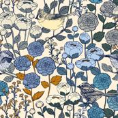 Winter Garden - {Cream}