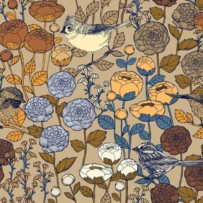 Winter Garden - {Almond}