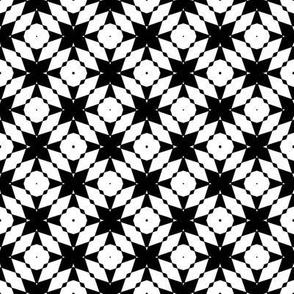 Black and White Arabesque, Smaller Scale