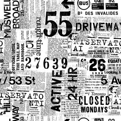 Grunge Urban Typography Large