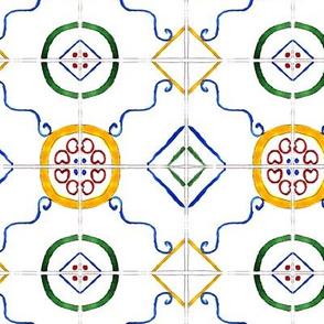 Majolica || watercolor tiles