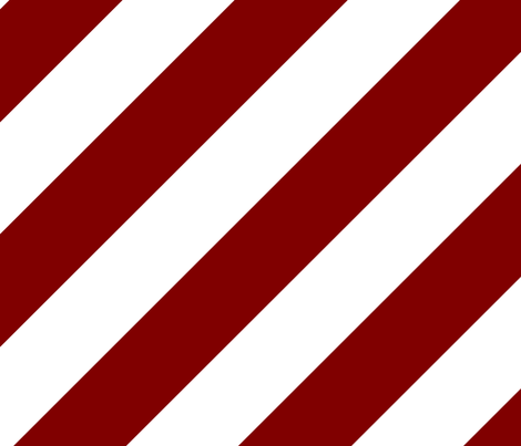 Maroon Dark Red Fresh White Color Large Simple Stripe Gift Present Candy Paper Pattern fabric by artpics on Spoonflower - custom fabric
