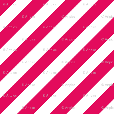 Raspberry Fresh White Color Large Simple Stripe Gift Present Candy Paper Pattern