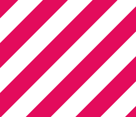 Raspberry Fresh White Color Large Simple Stripe Gift Present Candy Paper Pattern fabric by artpics on Spoonflower - custom fabric