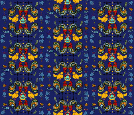 Scandinavian Farmhouse Living fabric by salzanos on Spoonflower - custom fabric