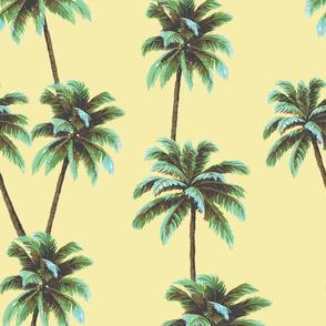 Crayon Palms - Yellow
