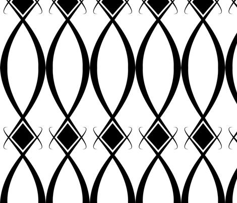 hlozik_black white fabric by hlozik on Spoonflower - custom fabric