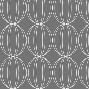 Grey Geometric Circles