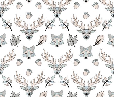Scandinavian style fabric by avot_art on Spoonflower - custom fabric