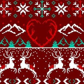 Winter Stitch / RED