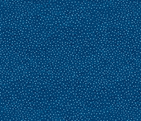 Starry winter night fabric by dariara on Spoonflower - custom fabric