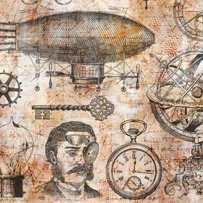 Steampunk Vintage Collage