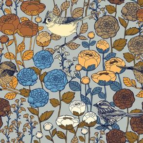 Winter Garden {Antique Silver}