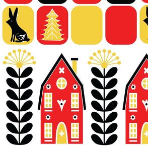 Scandinavian Folk Art Large