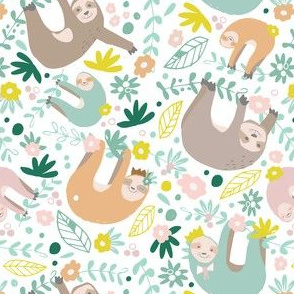 Slumber Party Sloths