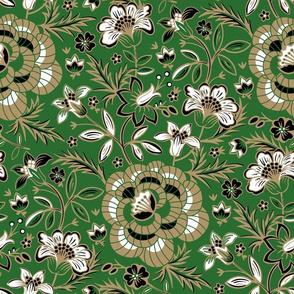 Elora Floral - Green