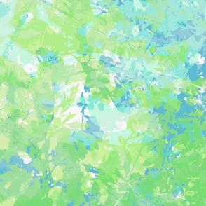 Spring Florals green