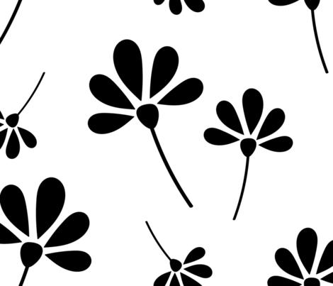 Flower Flurry fabric by shinebrightoday on Spoonflower - custom fabric