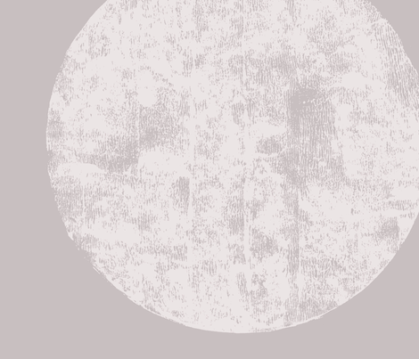 Jumbo moon soft violet-gray fabric by juliaschumacher on Spoonflower - custom fabric
