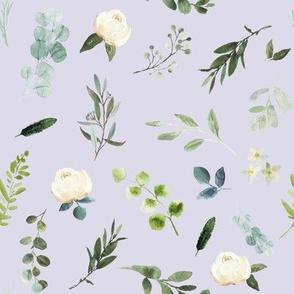 "8"" Eucalyptus Beauty // Snuff Lavender"
