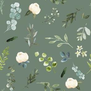 """8"""" Eucalyptus Beauty // Xanadu Olive"""