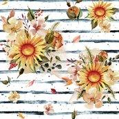 Rrgolden_sunflowers_on_blue_stripes_shop_thumb