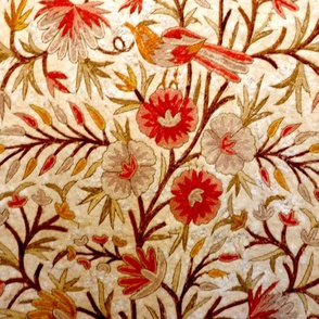 floral embroidery small