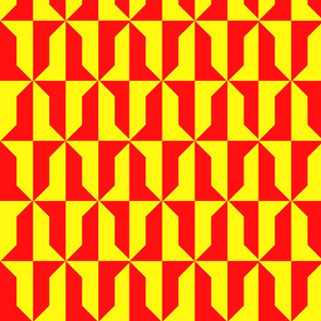 Vair Red and Yellow