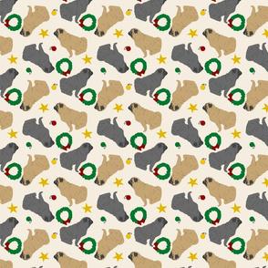 Tiny Pugs - Christmas
