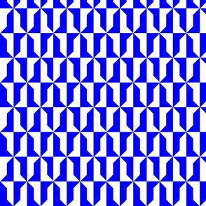 Vair Blue and White