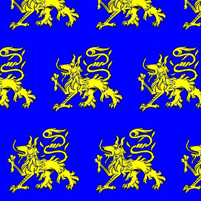 Alphyn Blue and Yellow