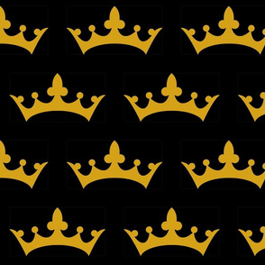 Crown Black and Gold