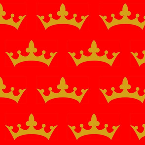 Crown Red and Gold