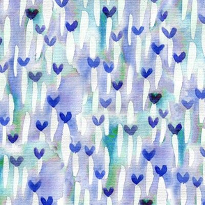 Love field blue small