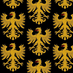 Eagle Black and Gold