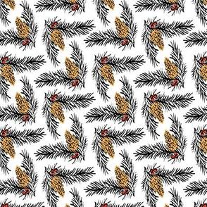 Mod Pine Cones