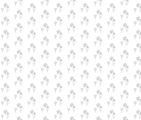 Dotted Flowers fabric by atlas_&_tootsie on Spoonflower - custom fabric
