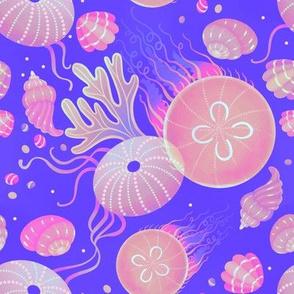 Ocean life - neon