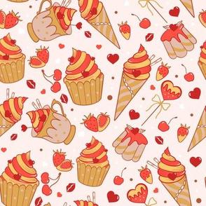 Valentine sweets (warm)