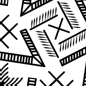 black and white largescale geometry-01