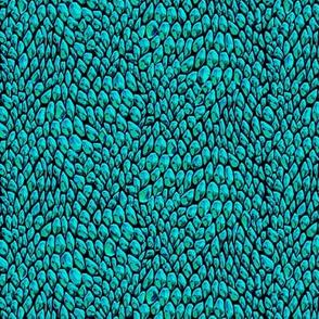 ice metal bluegreen scales