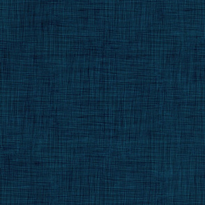 Navy-blue linen for Arctic Wonderland