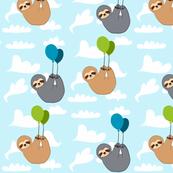 Sleepy Sloth Balloon Ride