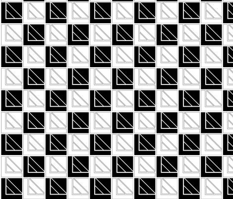 geometric fabric by irwi on Spoonflower - custom fabric