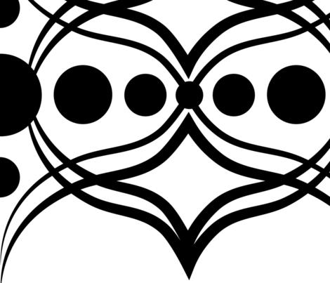 B_W 9-01 fabric by zestfully_me on Spoonflower - custom fabric