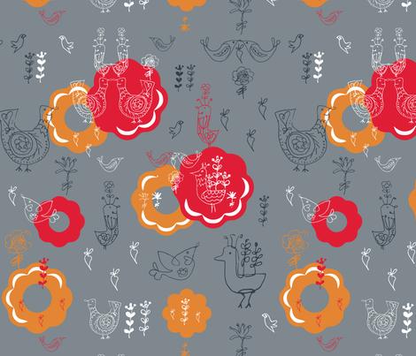 scandinavian 101 fabric by dragonli on Spoonflower - custom fabric