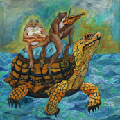 Portrait with Indignant Turtle