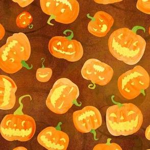 jack o lanterns orange